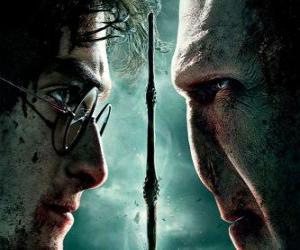 Puzzle de Carteles de Harry Potter y las Reliquias de la Muerte (2)