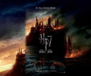 Puzzle de Carteles de Harry Potter y las Reliquias de la Muerte (1)