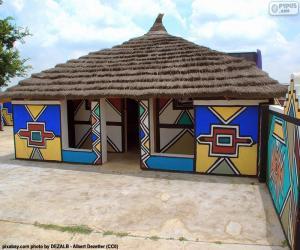 Puzzle de Casa étnica, Sudáfrica