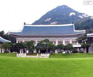 Puzzle de Casa Azul, Séul, Corea del Sur