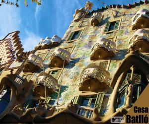 Puzzle de Casa Batlló, Barcelona