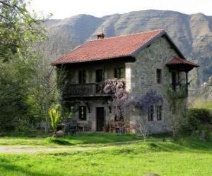 Puzzle de Casa en el campo