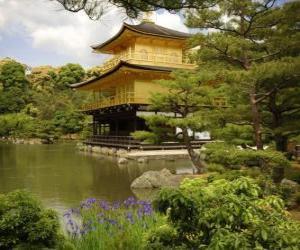 Puzzle de Casa estilo oriental