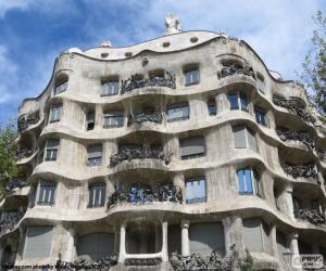Puzzle de Casa Milà, Barcelona