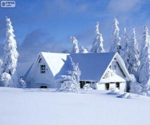 Puzzle de Casa nevada