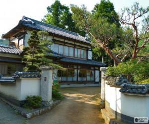 Puzzle de Casa tradicional japonésa