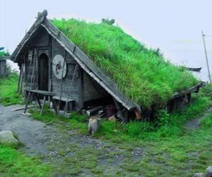 Puzzle de Casa vikinga