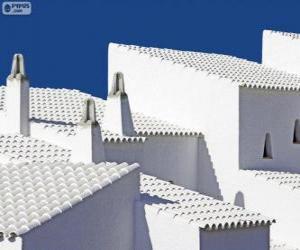 Puzzle de Casas blancas