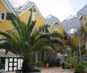 Puzzle de Casas, cúbicas de Rotterdam