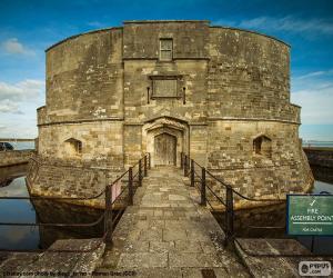 Puzzle de Castillo Calshot, Inglaterra