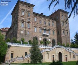 Puzzle de Castillo de Agliè, Agliè, Italia