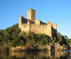 Puzzle de Castillo de Almourol, Portugal