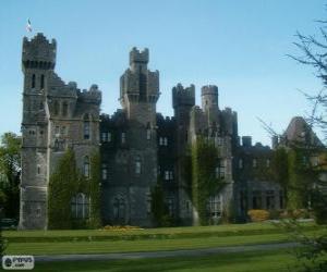 Puzzle de Castillo de Ashford, Irlanda