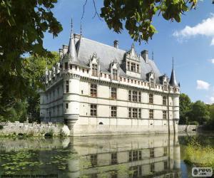 Puzzle de Castillo de Azay-le-Rideau