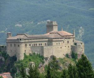 Puzzle de Castillo de Bardi, Italia