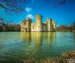 Puzzle de Castillo de Bodiam, Inglaterra