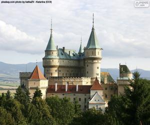 Puzzle de Castillo de Bojnice, Eslovaquia