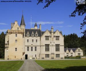 Puzzle de Castillo de Brodie, Escocia