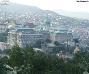 Puzzle de Castillo de Buda, Budapest, Hungría