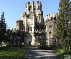 Puzzle de Castillo de Butrón, España