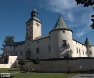 Puzzle de Castillo de Bytča, Eslovaquia