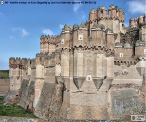 Puzzle de Castillo de Coca, España
