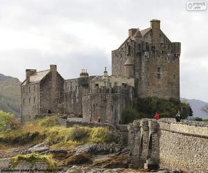 Puzzle de Castillo de Eilean Donan, Escocia