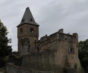 Puzzle de Castillo de Frankenstein, Alemania