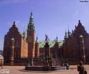 Puzzle de Castillo de Frederiksborg, Hillerød, Dinamarca