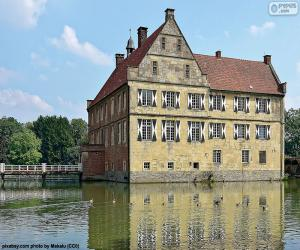 Puzzle de Castillo de Hülshoff, Alemania