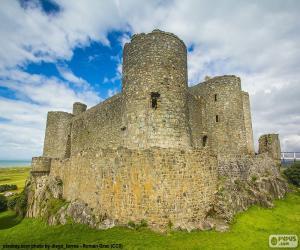 Puzzle de Castillo de Harlech, Gales