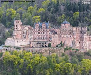 Puzzle de Castillo de Heidelberg, Alemania