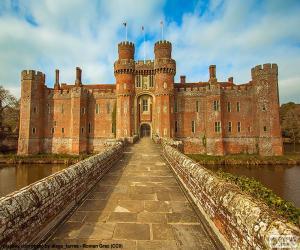 Puzzle de Castillo de Herstmonceux, Reino Unido