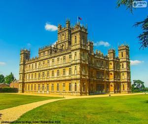 Puzzle de Castillo de Highclere, Inglaterra