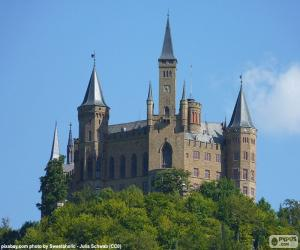 Puzzle de Castillo de Hohenzollern, Alemania
