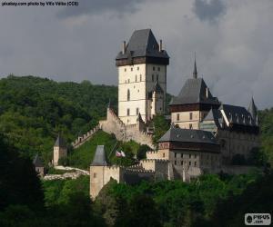 Puzzle de Castillo de Karlštejn