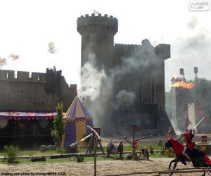 Puzzle de Castillo de la Edad Media