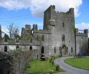 Puzzle de Castillo de Leap, Irlanda