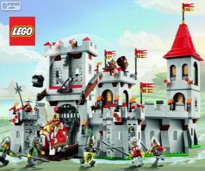 Puzzle de Castillo de Lego