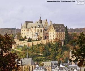 Puzzle de Castillo de Marburgo, Alemania