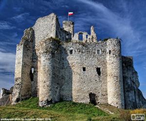 Puzzle de Castillo de Mirów, Polonia