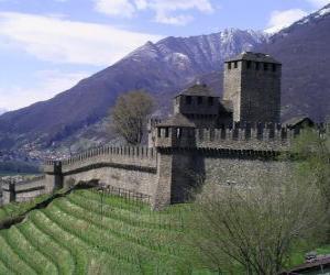 Puzzle de Castillo de Montebello, Suiza