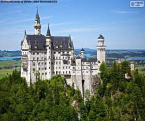 Puzzle de Castillo de Neuschwanstein