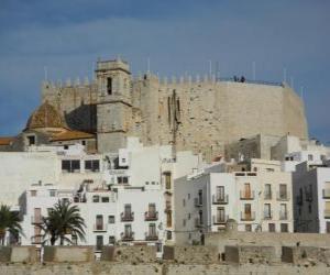 Puzzle de Castillo de Peñíscola, España
