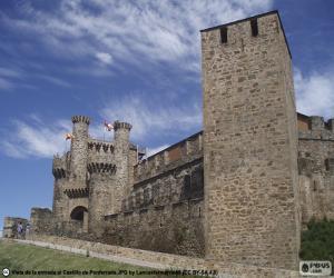 Puzzle de Castillo de Ponferrada, España