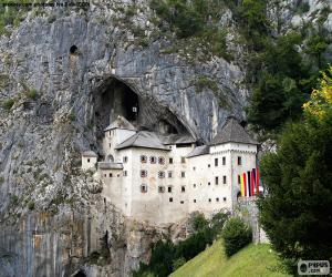 Puzzle de Castillo de Predjama, Eslovenia