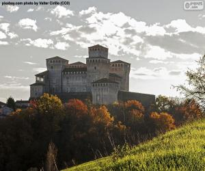 Puzzle de Castillo de Torrechiara, Italia