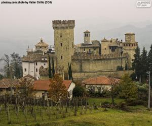 Puzzle de Castillo de Vigoleno, Italia