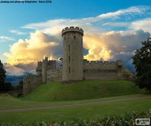 Puzzle de Castillo de Warwick, Inglaterra
