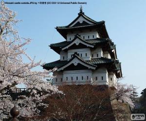 Puzzle de Castillo Hirosaki, Japón